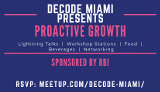 Proactive Growth - For Developers, Designers and Professionals alike!